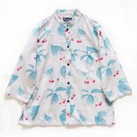 【晒シャツ】レディース向け七分袖 さくらんぼ