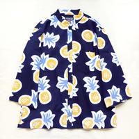 【晒シャツ】レディース向け七分袖 パイナップル