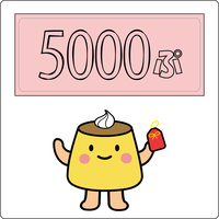 投げ銭5000ぷりん