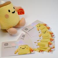 幸せの黄色いぷりん券(1枚)*送料込み