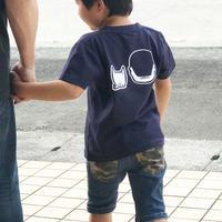 子どもサイズ 西郷さんTシャツ 315satsuma KIDS:後頭部タイプ