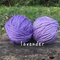 手染め麻糸/lavender