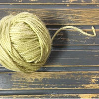 手染め麻糸/pale  green