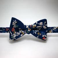 蝶ネクタイ KIMONO fabric 型友禅 上京蝶帯 #407