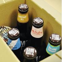 【飲み比べセット〜KIKK IPAと個性派揃い〜】330mlボトル×5本、オリジナルグラス×1個