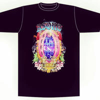 YAMATERAS × STRESS TYO   'ASOKO'  T- Shirt