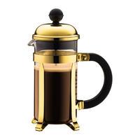 ボダム シャンボール ゴールド 350ml フレンチプレスコーヒーメーカー