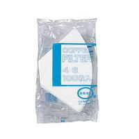 ★bonmac コーヒーフィルター NB酸素漂白4人用NB-400S 4~6杯用
