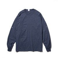 〈PAPERMIC〉BASIC L/S T-Shirt Gray