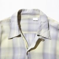 70`s Rayon Check Shirt