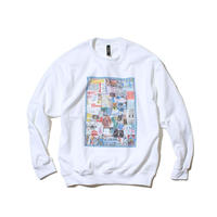 〈PAPERMIC〉CRASTY CREW SWEAT