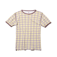 〈Kumpf wasche〉Knit  T-Shirt|Lady's