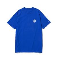 〈PAPER MIC〉Peace T-Shirt|Blue