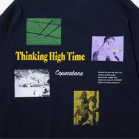 〈PAPERMIC〉Copacabana PKT T-Shirt Navy