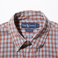 〈Ralph Lauren〉90`s Check S/S Shirt