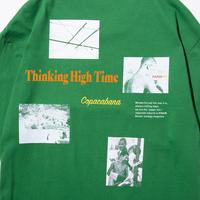 〈PAPERMIC〉Copacabana T-Shirt Green