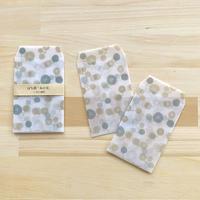 半透明のぽち袋   「木の実」