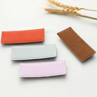 日本製 髪ピタ(Kamipita )長方形2個セット  新サイズ 9*2.5cm 11色から選べます