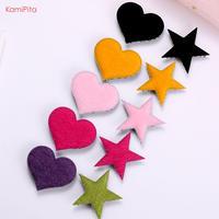 2020NEW Kamipita(髪ピタ)星、ハート  フェイクファー(5*4.5cm)