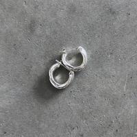 Silver Triple Ring Pierce