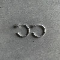 Silver Midi Hoop Pierce