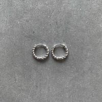 Silver Twist Tiny Pierce
