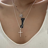 *Limited  Cross Top (M) × O Necklace SET