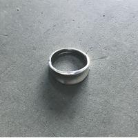 Silver R Ring