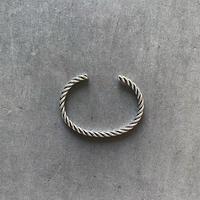 Silver Twist Bangle