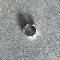 Silver Round Cuff