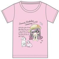 『夕姫さあな』生誕祭Tシャツ(スリジエ・虹組メンバー用7名分)