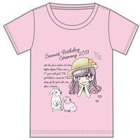 『夕姫さあな』生誕祭Tシャツ(スリジエ・宙組メンバー用7名分)