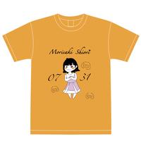『森崎志桜里』生誕祭Tシャツ(スリジエ・虹組メンバー用6名分)