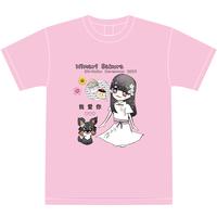 『愛葵さくら』生誕祭Tシャツ(スリジエ・風組メンバー用6名分)