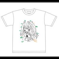 『黒咲りあん』生誕祭Tシャツ(スリジエ・風組メンバー用6名分)