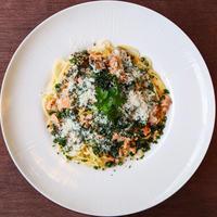 西海サーモン パセリのスパゲッティ