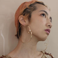 candy loop foop pierce (Gold)両耳