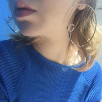 candy loop foop pierce ( Silber)