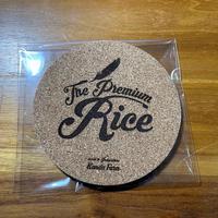 The Premium Rice コースター