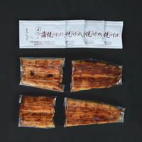 【国産手焼きうなぎ蒲焼(小丼用)】4袋