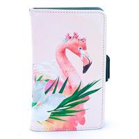 ワイルドスマホケース Floral Flamingo
