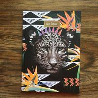 ワイルドノート(罫線入り)Fierce Leopard
