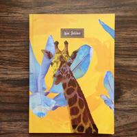 ワイルドノート(罫線入り) Radiant Giraffe