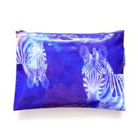 サファリポーチ Purple Zebra