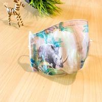 (生産中)ハッピーアートマスク  Holiday Rhino  (大人用 M)