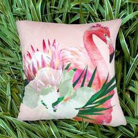 エクスプローラークッションカバー Floral Flamigo