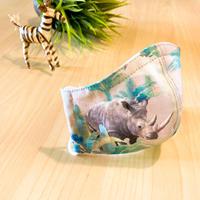 ハッピーアートマスク  Holiday Rhino  (キッズ)