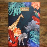 ワイルドノート(罫線入り)Midnight Safari