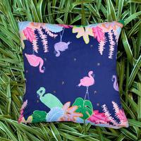エクスプローラークッションカバー Flamingo Jungle