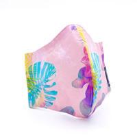 ハッピーアートマスク Tropical Pink(大人用M)
